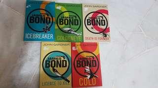 James bond series