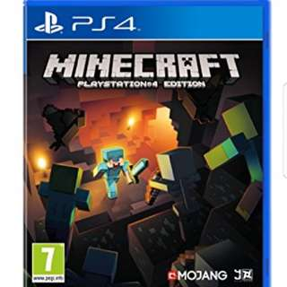 Minecraft Full Game PS4