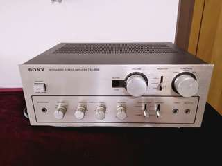 Sony TA 2650 功放 integrated amplifier
