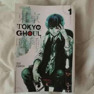 TOKYO GHOUL ORIGINAL MANGA BOOK