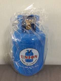 Union gas coin container