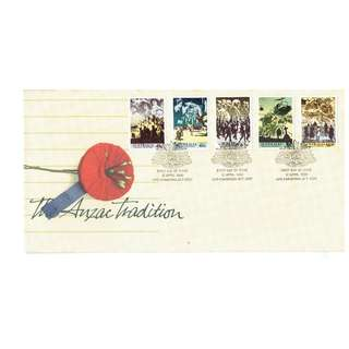 FDC  #450  The Anzac Tradition  Australia