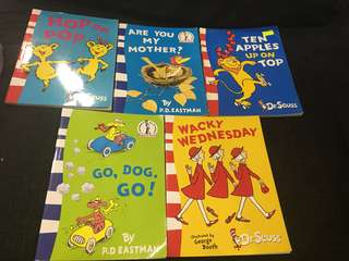 Dr Seuss reading books