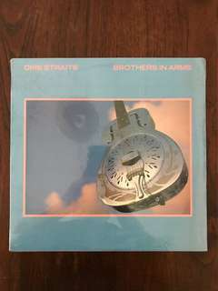 BN Sealed Dire Straits Brothers in Arms Vinyl Record