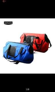 36×18×24cm Pet Dog CatTravel Outdoor Mesh Bag Breathable