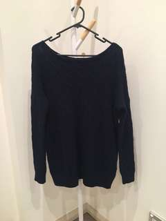 Ralph Lauren navy sweater