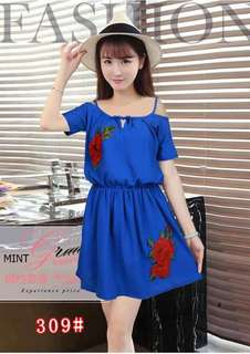 Sexy dress korean clothing Price:250   only.. Free size small to semi large frame.. Everybody is welcome to be my reseller  We offer free shipping with minimum order of 3000.