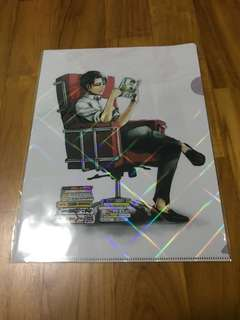 Attack on Titan (Levi) x FRaU clear file
