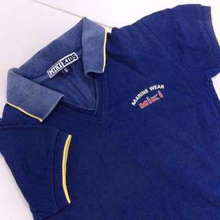 [FREE WITH ANY PURCHASE] Miki Kids Polo Tee.
