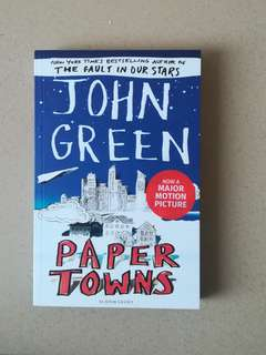 NEW! Paper Town by John Green