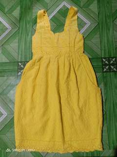 Yellow Cute Dress