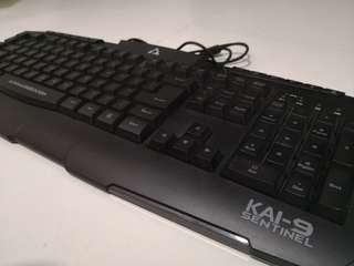 Armaggeddon KAI-9 Sentinel Gaming keyboard and Mouse