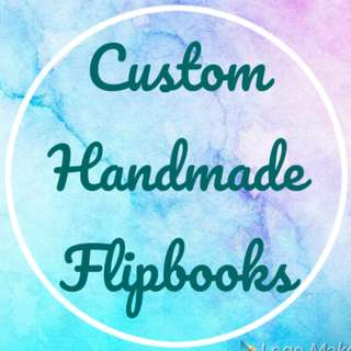 Custom Handmade Flipbooks