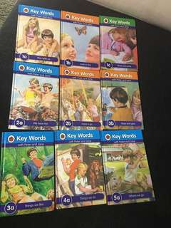 Ladybird Early reading books (set of 9)