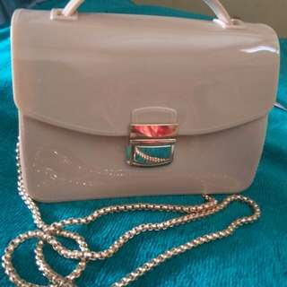 Tas Jelly Peach/ Sling Bag