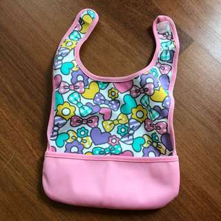 Floral Waterproof Bib