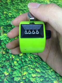 [GRATIS ONGKIR] Joyko Hand Counter Green