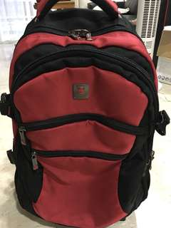 Polo Classic Trolley Bag (Red)