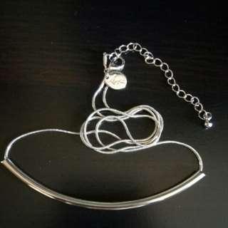 BN Lovisa Silver Minimalist Tube Necklace