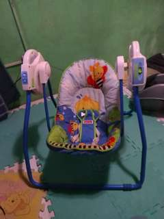 Take-Along fisher price swing