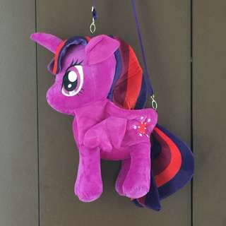 Brand New - My Little Pony Soft Toy Shoulder Bag