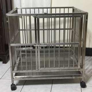 中小型犬用不鏽鋼狗籠