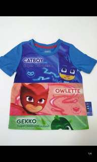 Pj mask t Shirt Brand New Size 3-5yrs old