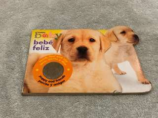 Touch, Feel and Say Puppy Book