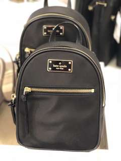 Kate spade mini backpack