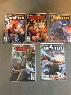 DC New 52 Grifter 1-5 near mint
