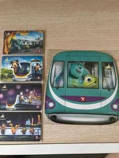 港鐵迪士尼紀念車票