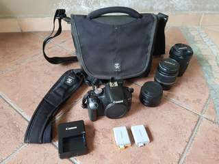 Pre-loved Canon 500D (Package Deal)