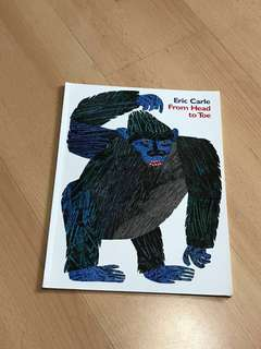 NEW Eric Carle From Head to Toe