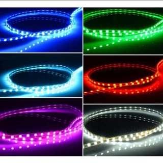🚚 Escooter EBike Underdeck LED Light Strip 45cm 2pcs