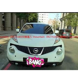 車達人-mountain- ⛰️嚴選認證中古車 14年 日產 JUKE 白色 車況優 專營優質中古車*二手車