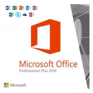 Microsoft Office Professional Plus 2016 Genuine