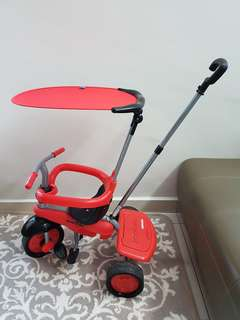 Original 3in1 Smartrike Carnival Red (10-36months)