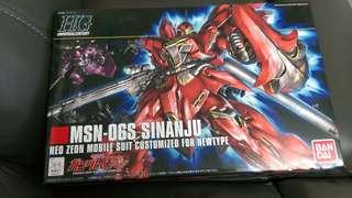 高達模型MSN-06S SINANJU