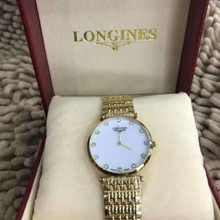 mixed with 20k gold Longines watch