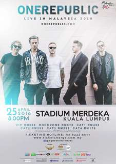 'OneRepublic' Poster (2 poster available)