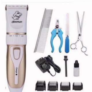 🚚 Dog Cat Rabbit Baby Pet Professional Titanium Ceramic Shaver Trimmer Baorun P3 Clipper new