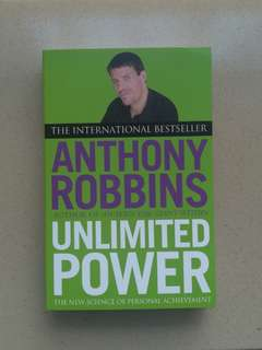 NEW! Unlimited Power by Anthony Robbins