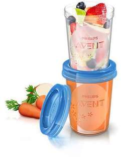 Philips Avent Food Storage Cup 5 x 240ml