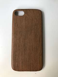 iPhone 6, 6s, 7, 8 case, wood pattern