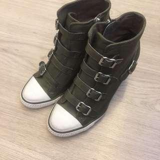 全新ASH 暗高踭sneaker, 37號,購自連卡佛