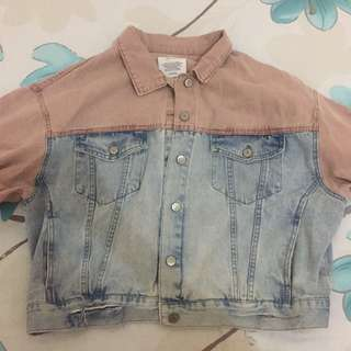 Pullnbear denim jacket in two colors