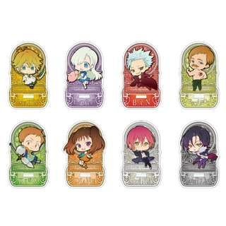 """[PO] """"The Seven Deadly Sins: Revival of the Commandments"""" Trading Acrylic Stand"""