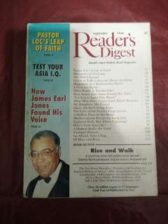 Reader digest September 1994