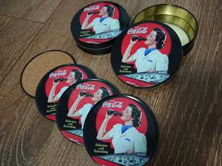 Coca-Cola coasters Collectables