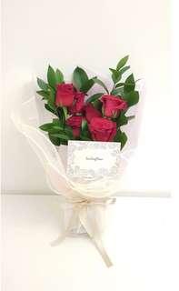Free D flower bouquet 4